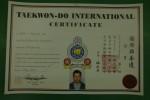 Борис Герганов получи дан сертификат от ATI