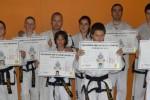 Връчване на сертификати за черен колан в ТК Феникс