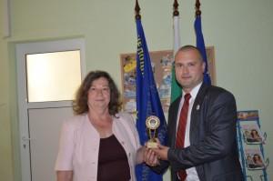 г-жа Александрова, директор на 167 ЦДГ