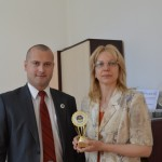 М. Трифонов и г-жа Вера Захариева