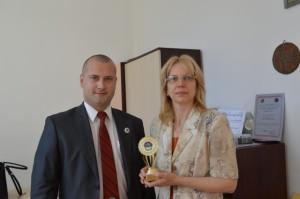 г-жа Захариева, директор на 12 СОУ