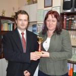 М. Трифонов и г-жа Стефка Стефанова
