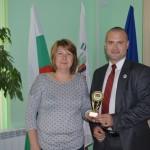М. Трифонов и г-жа Веселина Георгиева
