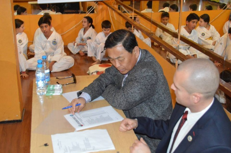 Изпит за ученически степени в ТК Феникс