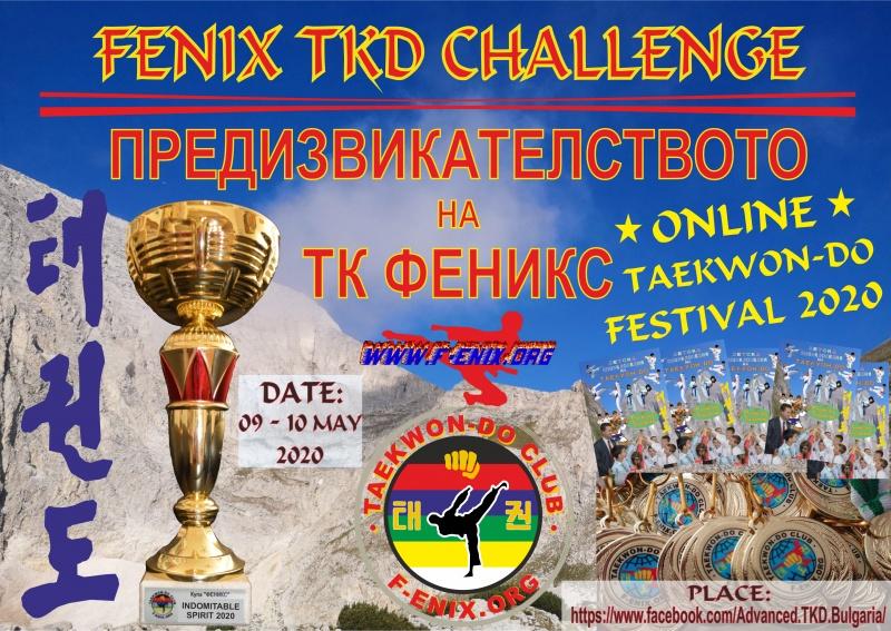 ТК Феникс – Онлайн Таекуон-до Фестивал